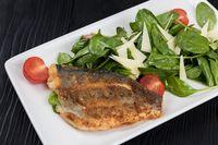 Grilled Dorado fish fillet