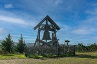 Die Friedensglocke auf dem Fichtelberg im Erzgebirge