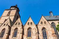Evangelische Walpurgiskirche in Alsfeld im mittelhessischen Vogelsbergkreis