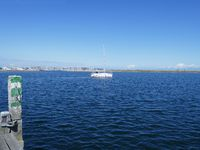 Segelboot vor Heiligenhafen
