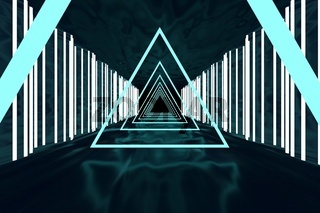 3d rendering of backgrounds abstract. 3d illustration of simple Geometric