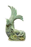 Japanese Mythological Fish Sculpture, Tokyo Japan