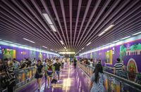 Passage in the underground in Chongqing city