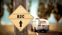Street Sign to B2C