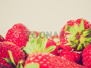 Retro look Strawberry