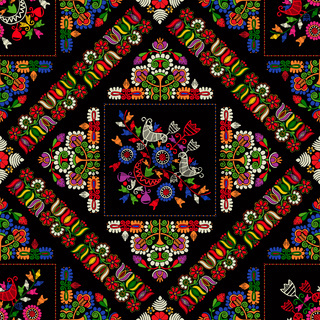 Hungarian embroidery pattern 22