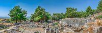Ancient city Priene in Turkey