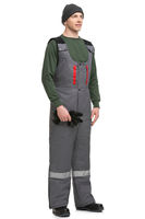 Male in workwear isolated view