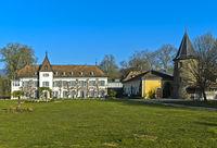 Schloss Bossey, Château de Bossey, Bogis-Bossey, Waadt, Schweiz