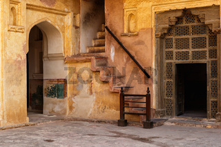 Amer (or Amber) fort in Jaipur city, India