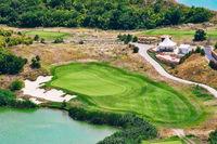 Golf Course on the Sea Shore