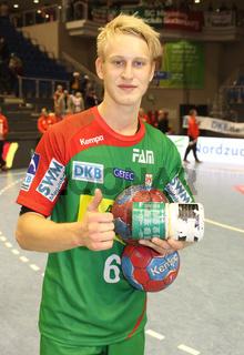 deutscher Handballer Matthias Musche SC Magdeburg DHB DKB Handball-Bundesliga Saison 2013-14