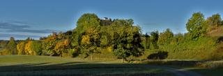 Herbststimmung beim Kornbühl, Schwäbische Alb