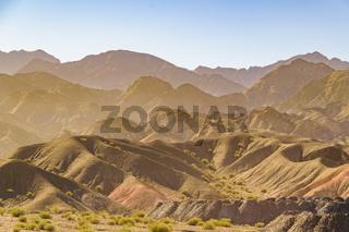 Countryside Landscape, San Juan Province, Argentina