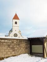 Church Saint Anna in the hills of lower austria