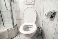 toilet room interior