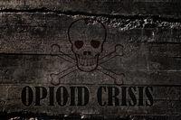 Opioid Crisis Concept