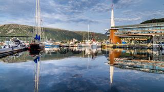 Skyline Tromso in Norway