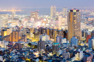Kobe Cityscape sunset