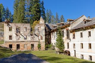 Ruinen von Wildbad Innichen, Suedtirol