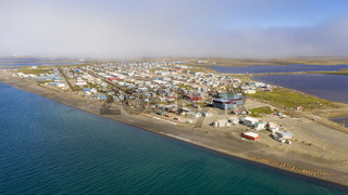 The Fog is lifting in Barrow Alaska now called Utqiagvik AK