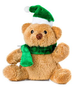 teddy bear christmas toy
