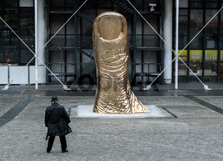 The Thumb, is a series of works by the sculptor César undertaken from 1965 and representing enlargements of his own thumb.