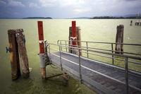 Stormy mood at Lake Trasimeno