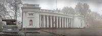 City hall building in Odessa, Ukraine