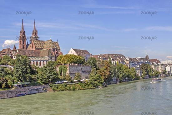 Am Hochrein beim Münster,  Basel, Schweiz