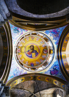 Interior of the Church of the Holy Sepulcher