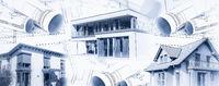 Moderne Einfamilienhäuser mit Bauplänen