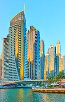 Towers of Dubai Marina