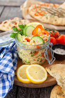 Leckerer Ptitim / Couscous Salat