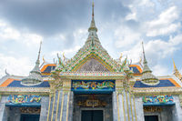 View of Throne Hall building in Grand Palace in Bangkok