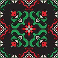 Romanian traditional pattern 210