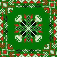 Romanian traditional pattern 184
