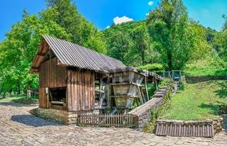 Saw mill in the Etar village,  Bulgaria