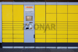 Packstation is an automated self-service parcel collection and dispatch service terminal operated by german mail company DHL