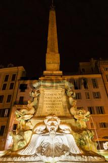 Brunnen Piazza Rotonda von Giacomo Della Porta und Leonardo Sormani