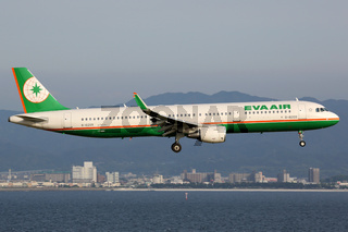 EVA Air Airbus A321 Flugzeug