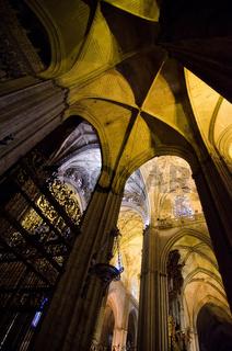 Kathedrale in Sevilla, Spanien
