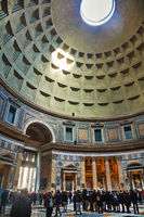 Pantheon interior in Rome