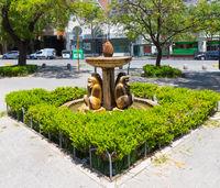 Cordoba Argentina fountain of the monkeys