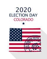 2020 Colorado vote card