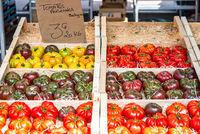 Wochenmarkt in Frejus