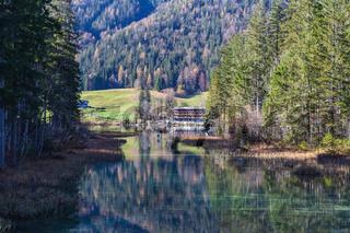 Hintersee bei Ramsau - Berchtesgaden