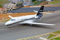 Cessna 680A Citation Latitude Flugzeug Flughafen London Luton