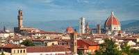 view of Florence cathedral Duomo