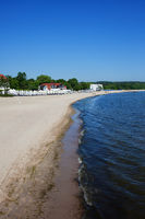 Baltic Sea Beach in Sopot